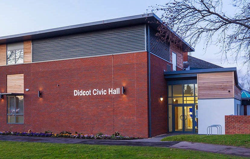 Didcot Civic Hall at hypnotherapy Abingdon with The Excel Practice